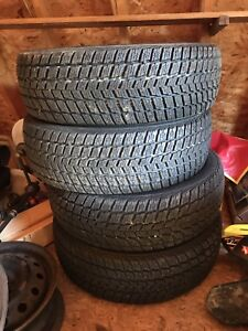 215/65r16 all 4 winter tires 75% of tread