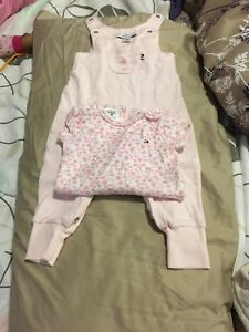 0-3 mos tommy hilfiger jumper with inner