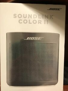 Bose SoundLink Color 2 Bluetooth speaker BNIB