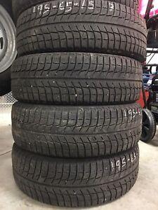 195-65-15 Michelin X-Ice Hiver