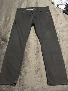 Gap slim black jeans 38/32 men's