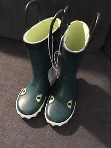 Carter's rain boots brand new size 7 toddler