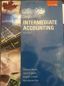 Intermediate Accounting Volume 2 Textbook - 6th Edition