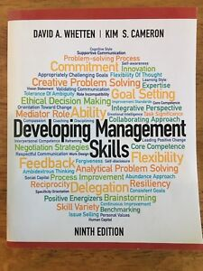 Developing Management Skills 9th Canadian Edition Textbook