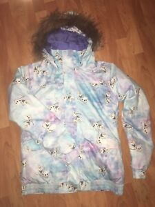 """Frozen"" Burton girls snowboard/winter jacket"