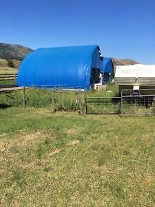 Big blue tents for sale