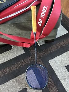 Yonex racquet and carrying bag