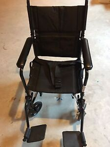 Drive medical aluminum transport chair  Kitchener / Waterloo Kitchener Area image 1