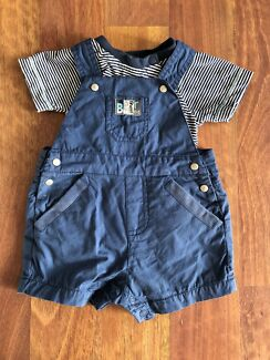 000 Max & Tilly Overalls Set