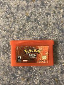 Pokémon fire red gameboy advance