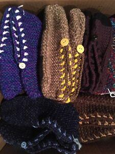 Pantoufles de laine