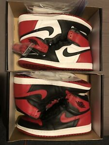 finest selection 97dff 3cb86 DS SIZE 11 JORDAN 1 BLACK TOE(2016) and BREDS(2013) ‼