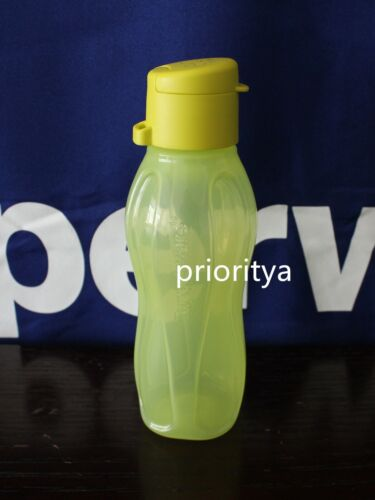 Tupperware ECO EXTRA Small Sport Water Bottle 10oz / 310ml Margarita Green New