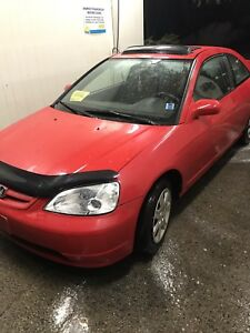 2001 Honda Civic trade for truck or suv