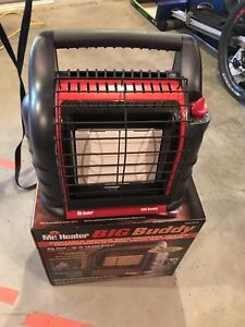 Big Buddy Propane Heater up to 18,000 BTUs