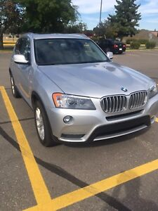 X3 XDRIVE28I w Extended Warranty and winter tires on rims