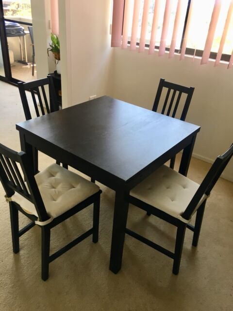 wooden dining room table and chairs dining tables gumtree rh gumtree com au