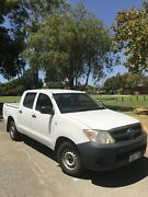 2006 Toyota Hilux Dual Cab A/C Workmate Willetton Canning Area Preview