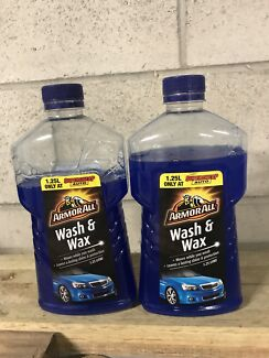 Wash and wax 2 full bottles for 1 bottle price