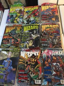 Wizard Magazines for sale