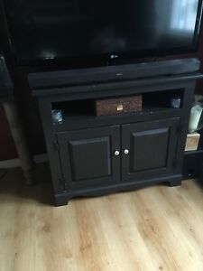 Tv unit with deep storage