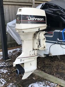 1990 - 60HP Johnson outboard motor for sale