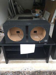 "Dual 12"" Bassworx Ported Box"