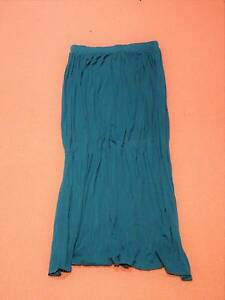 Teal maxi skirt - stretch material for ultimate comfort Hornsby Hornsby Area Preview