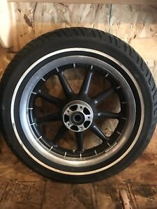 Harley Davidson front tire and wheel