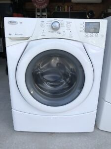 Whirlpool Duet Series Frontload Washer & Dryer