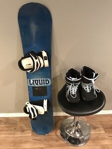 Womens Snowboard and boots