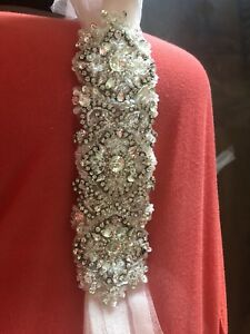 Rhinestone belt /Tule/ Wedding accessory /Grad accessory