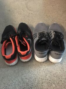 Adidas and Nike Men's running shoes
