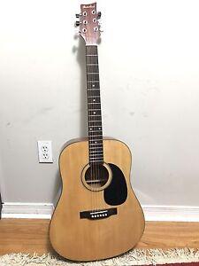 Beaver Creek Acoustic Guitar ($110)