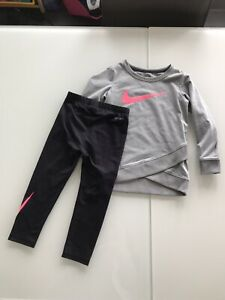 EUC 3T Girl Nike outfit