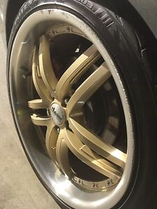 20  inch Holden ve rims 5*120 245/35/r20 Rowville Knox Area Preview