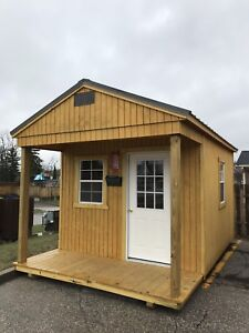 Shed with Playhouse pkg   8'X8' to 14' X40'  Engineer certified