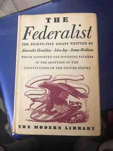 1937 copy of The Federalist Papers!