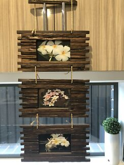 Wooden 3 x Hanging Frame (BRAND NEW)