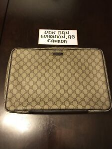 Authentic Gucci Laptop Carrying Case