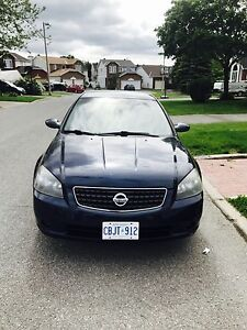 MIDNIGHT BLUE 2006 NISSAN ALTIMA SPECIAL EDITION 236KM