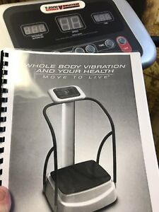 T Zone whole body vibration system
