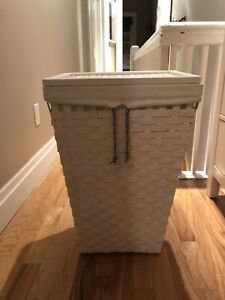 White Laundry Hamper from IKEA