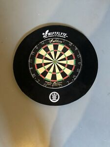 Swiftflyte dartboard and surround