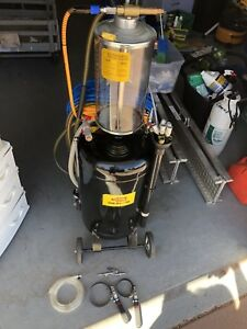 Vehicle Oil Change/Fluid Evacuator for the home mechanic.