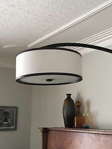 Large Floor Lamp and Matching Ceiling Light