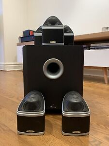 Mirage Nanosat home theatre 5.1 speaker system