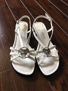 Geox Respira Sandals (white) size 36 for sale