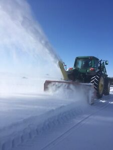 1080 Farm King snow blower.