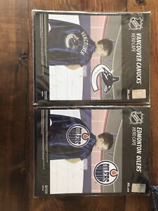 Vancouver Canucks and Edmonton Oilers hero capes